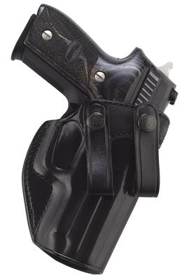 Galco SUM474B Summer Comfort Inside Pants Compact S&W M&P Saddle Leather Blk