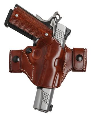 El Paso Saddlery OCXD94RR Snap Off Elite Compact Springfield XD 9/40 Leather Russet