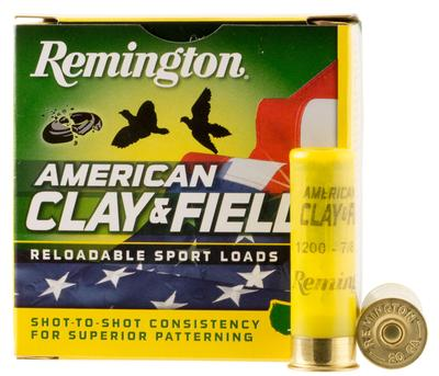 Remington Ammunition HT1275 American Clay and Field Sport Loads 12 Gauge 2.75