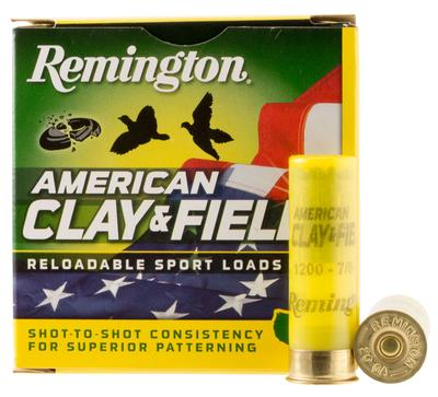 Remington Ammunition HT208 American Clay and Field Sport Loads 20 Gauge 2.75