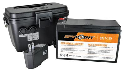 Spypoint KIT-12V Rechargeable Battery Charger and Housing Kit  12V  Power Pack 1