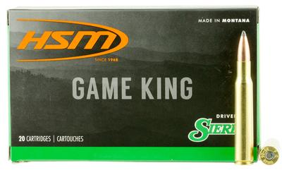 HSM 25069N Game King 25-06 Remington 117 GR SBT 20 Bx/ 20 Cs