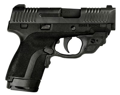Honor Defense HG9SCCT Honor Guard Sub-Compact Double 9mm +P 3.2