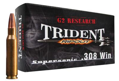 G2 Research RIP 308 Winchester/7.62 NATO 150 GR Supersonic 20 Bx/ 18 Cs