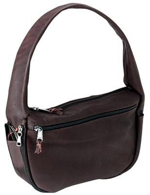 Galco SOLBRN Solitaire Handbag Various Universal Leather Brown