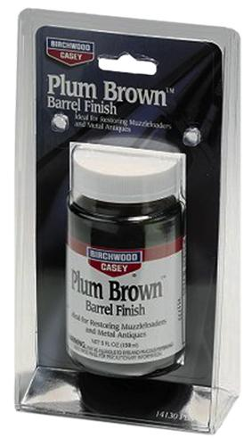 Birchwood Casey 14130 Plum Brown Barrel Finish 5 Oz