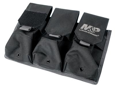 M&P Accessories 110267 Pro Tac Mag Pouch Black Nylon 11.125