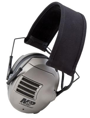 M&P Accessories 110041 Alpha Electronic Earmuff 23 dB Black/Gray