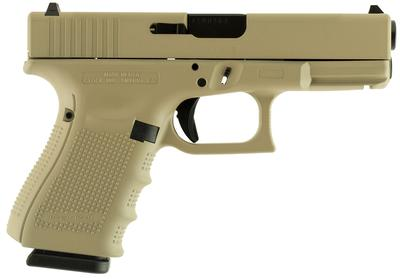 GLOCK UI1950204 G19 COMPACT DOUBLE 9MM L