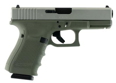 Glock UG1950204 G19 Gen 4 Double 9mm Luger 4.01