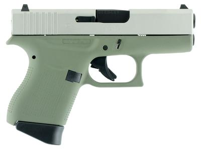 Glock UI4350204 G43 Subcompact Double 9mm Luger 3.39
