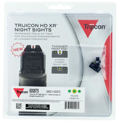 Trijicon 600875 HD Night Sights Springfield XD-S Yellow