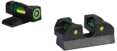 Sig Sauer Electro-Optics SOX11014 X-Ray1 #8 Green Front #6 Rear Round Notch Pistol Fiber Optic Green Black