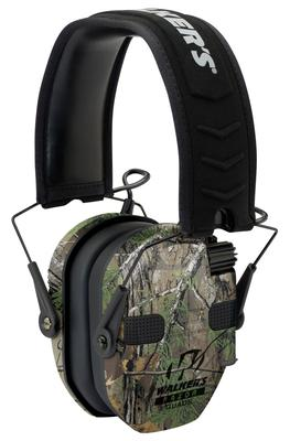 Walkers Game Ear GWPRSEQMCMO Razor Electronic Slim Muff 23 dB Camo