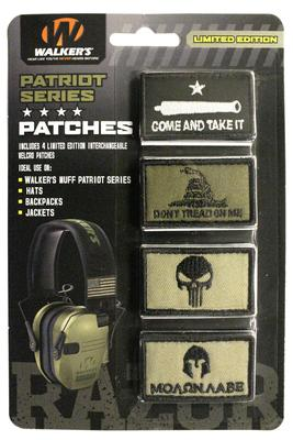 Walkers Game Ear  Patriot Muff Patch Kit