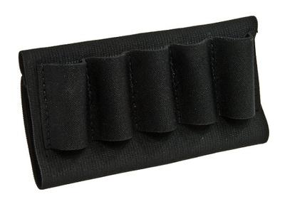 Blackhawk 74SH02BK  Holds 9 Additional  Shotshells Black Elastic/Nylon