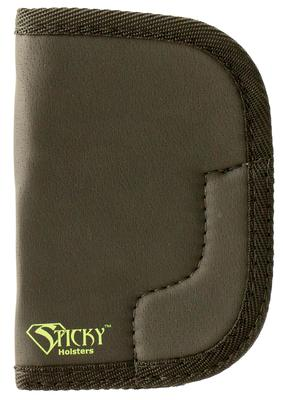 Sticky Holsters MD-6 Ruger SP 101 Latex Free Synthetic Rubber Black w/Green Logo