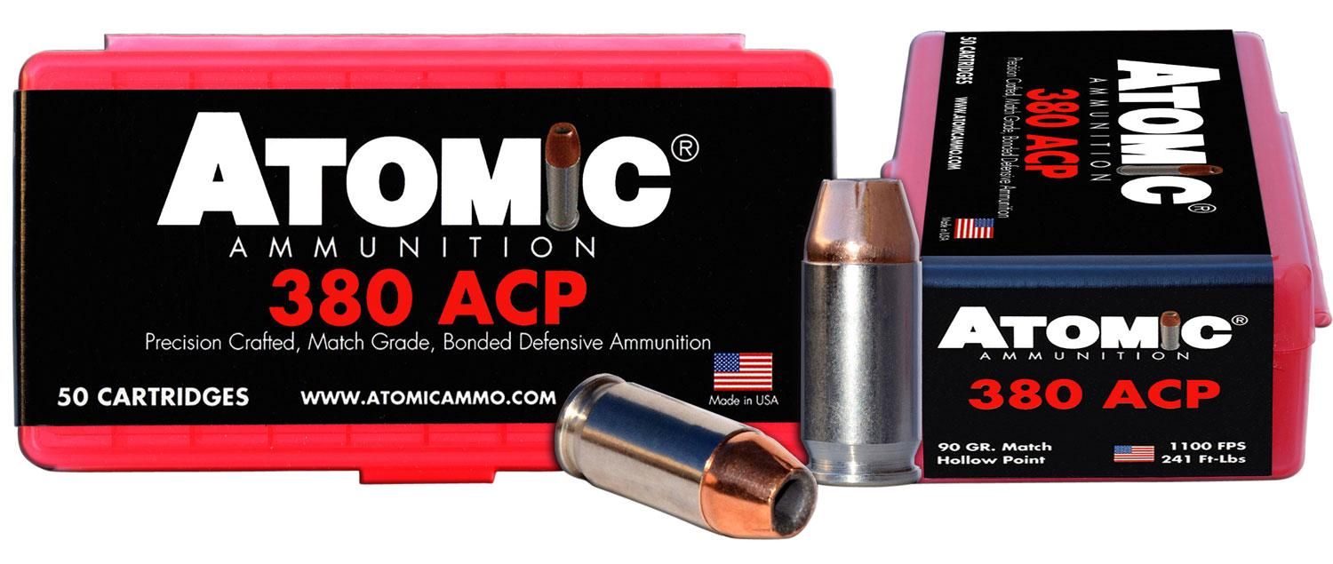 Atomic 00414 Defense 380 Acp 90 Gr Hpoint 50 Bx/10 Cs