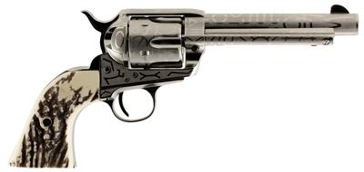 Taylors and Company OG1408 1873 Cattleman Single 45 Colt (LC) 5.5