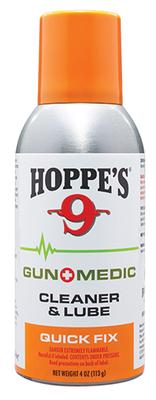 Hoppes GM3 Gun Medic Quick Fix Cleaner/Lubricant 4 oz Aerosol