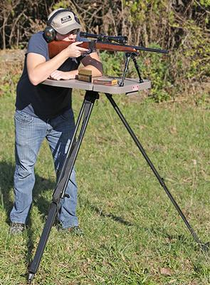 MTM HLST Hi-Low Shooting Table
