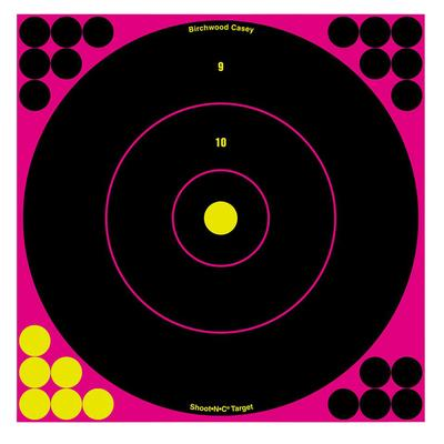 Birchwood Casey 34037 Shoot-N-C Bull's-Eye 12 Target