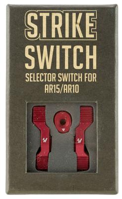 Strike SIARSSSRED AR Strike Switch Steel/Aluminum Red