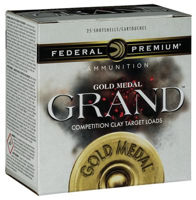 Federal GMT11475 Gold Medal Grand Target 12 Gauge 2.75
