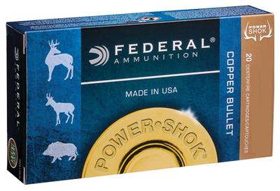 Federal A300W180LFA Power-Shok 300 Winchester Magnum 180 GR Copper Hollow Point 20 Bx/ 10 Cs
