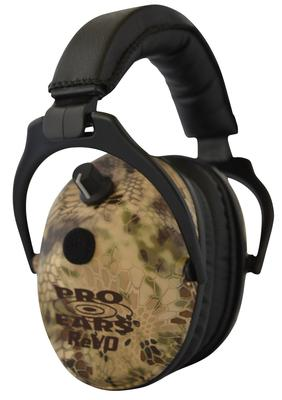 Pro Ears ER300HI ReVo Electronic Ear Muff 25 dB Kryptek Highlander