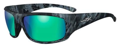 Wiley X ACOME12 Omega Eye Protection Kryptek Neptune Emerald Mirror