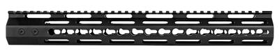 Trinity Force YGM515KM15 Echo Kyemod Rail AR-15 6061-T6 Aluminum Black Hard Coat Anodized 15.2