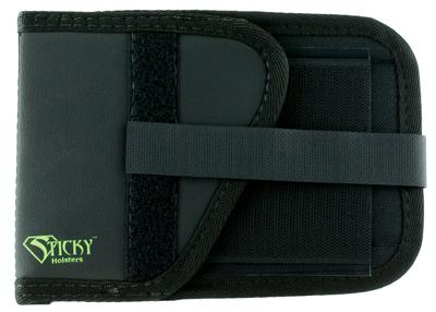 Sticky Holsters  Travel Mount Left Hand Black Latex Free Synthetic Rubber