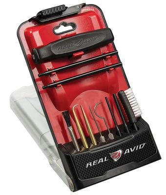 Real Avid/Revo AVGBPROPCT Gun Boss Pro Precision Cleaning Tool  Cleaning Kit Universal 11