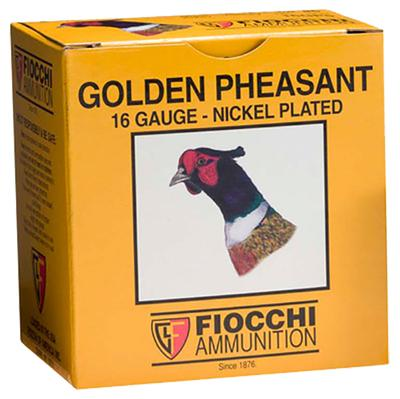 Fiocchi 20GP75 Golden Pheasant Nickel-Plated 20 Ga 2.75