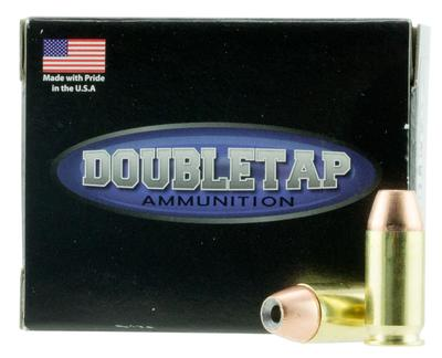 DoubleTap Ammunition 45A185CE DT Defense 45 Automatic Colt Pistol (ACP) 185 GR Jacketed Hollow Point 20 Bx/ 50 Cs
