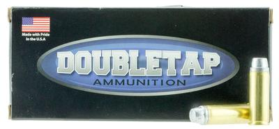DoubleTap Ammunition 45P255HC DT Hunter 45 Colt (LC) +P 255 GR Hard Cast Keith Semi-Wadcutter 20 Bx/ 25 Cs