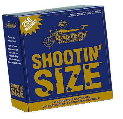Magtech MP38A SPORT SHOOTING 38 Special Lead Round Nose 158 GR 250Box/4Case