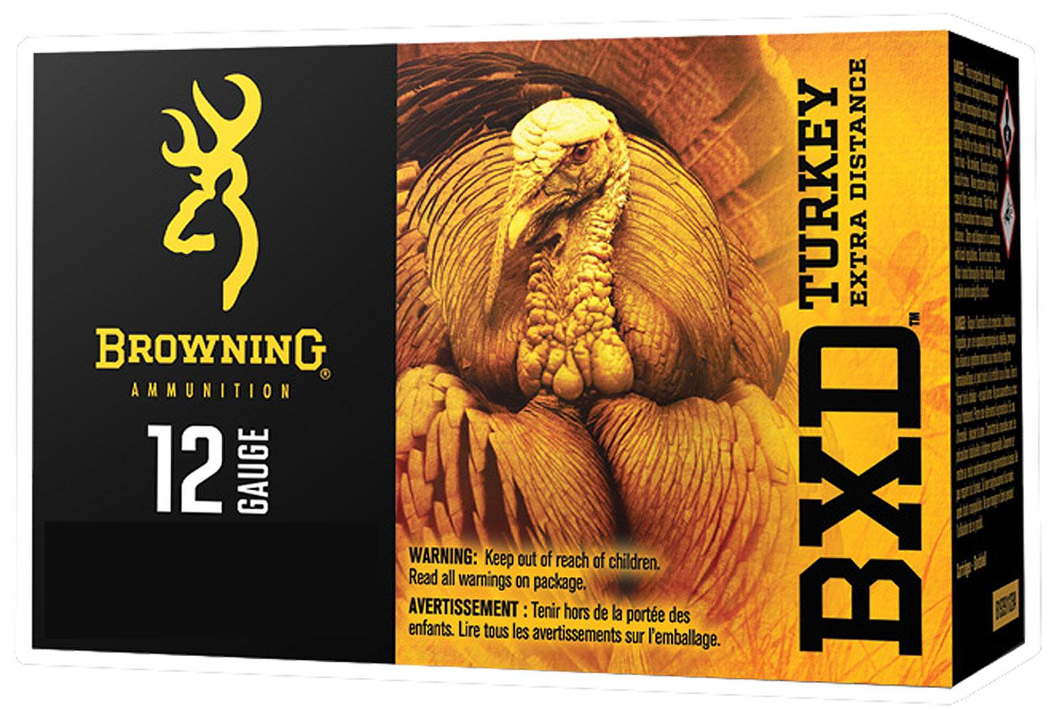 Browning Ammo B193911245 Bxd Extra Distance Turkey 12 Gauge 3.5