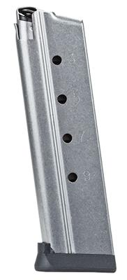 Rock Island 38747 22 TCM/9mm/38 Super 10 rd TCM Rock Standard  Steel Silver Finish