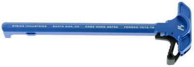 Strike SIARCHELBLU AR Charging Handle with Extended Latch Aluminum Blue