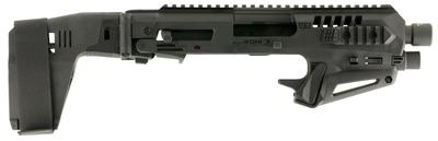 Command Arms MICRONISTAB19 Micro Roni Stabilizer for Glock 19/23/32 Gen 3/4 Aluminum/Polymer Black