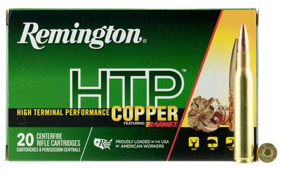 Remington Ammunition HTP270W HTP Copper 270 Winchester 130 GR TSX 20 Bx/ 10 Cs