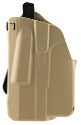 Safariland 737189518552 7371 ALS Paddle  Glock 43 Nylon Flat Dark Earth