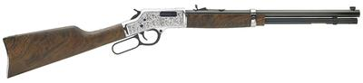 Henry H006CSD Big Boy Silver Deluxe Engraved Lever 45 Colt (LC) 20