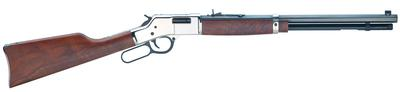 Henry H006SD Big Boy Silver Deluxe Engraved Lever 44 Remington Magnum 20