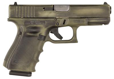 Glock PI4350201BWM G43 Subcompact Double 9mm Luger 3.39