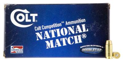 Colt Ammo 40SW180FMJCT Defense Target 40 Smith & Wesson (S&W) 180 GR Full Metal Jacket 20 Bx/ 50 Cs