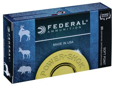 Federal 3006DT180 Non-Typical 30-06 Springfield 180 GR Soft Point 20 Bx/ 10 Cs