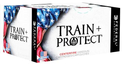 Federal TP40VHP1 Train and Protect 40 Smith & Wesson (S&W) 180 GR Verstile Hollow Point (VHP) 50 Bx/ 10 Cs